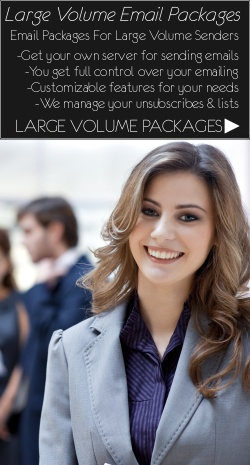 Large Volume Email Packages